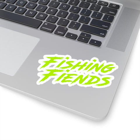 Fishing Fiends sticker green