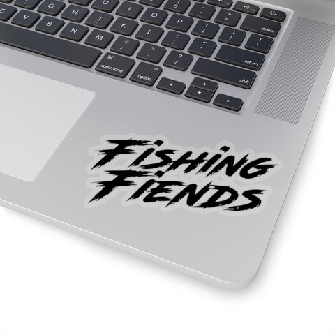 Fishing Fiends sticker black