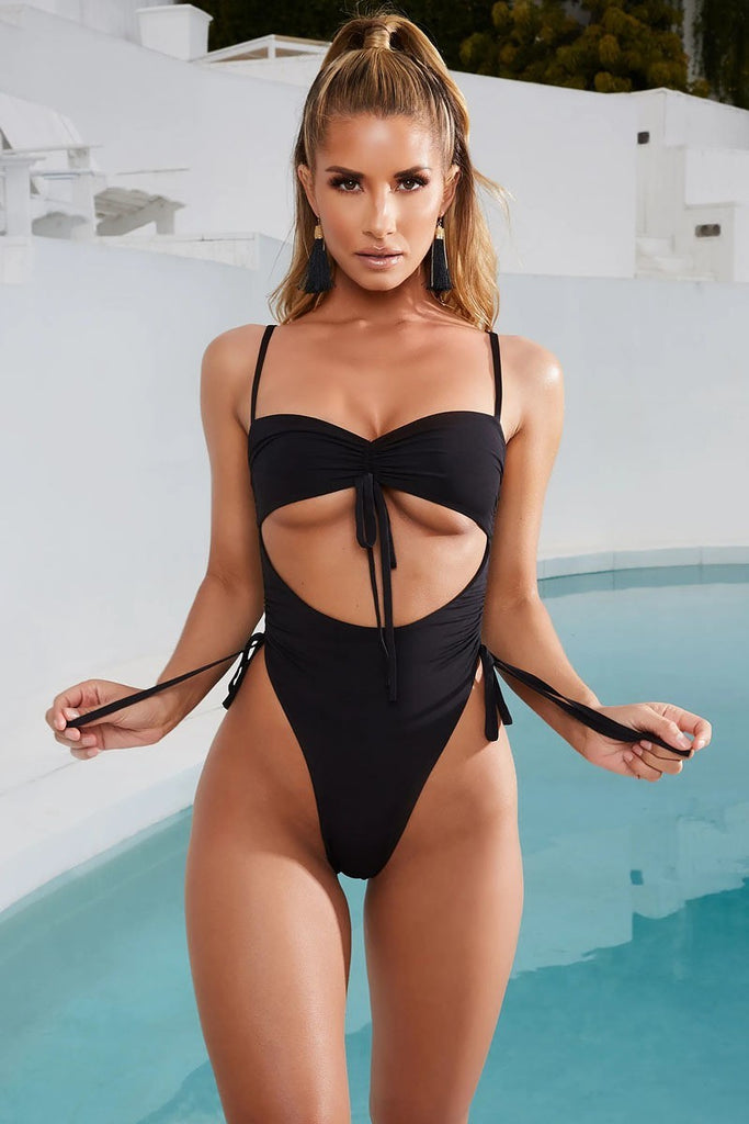 Boca Chica Black  One Piece