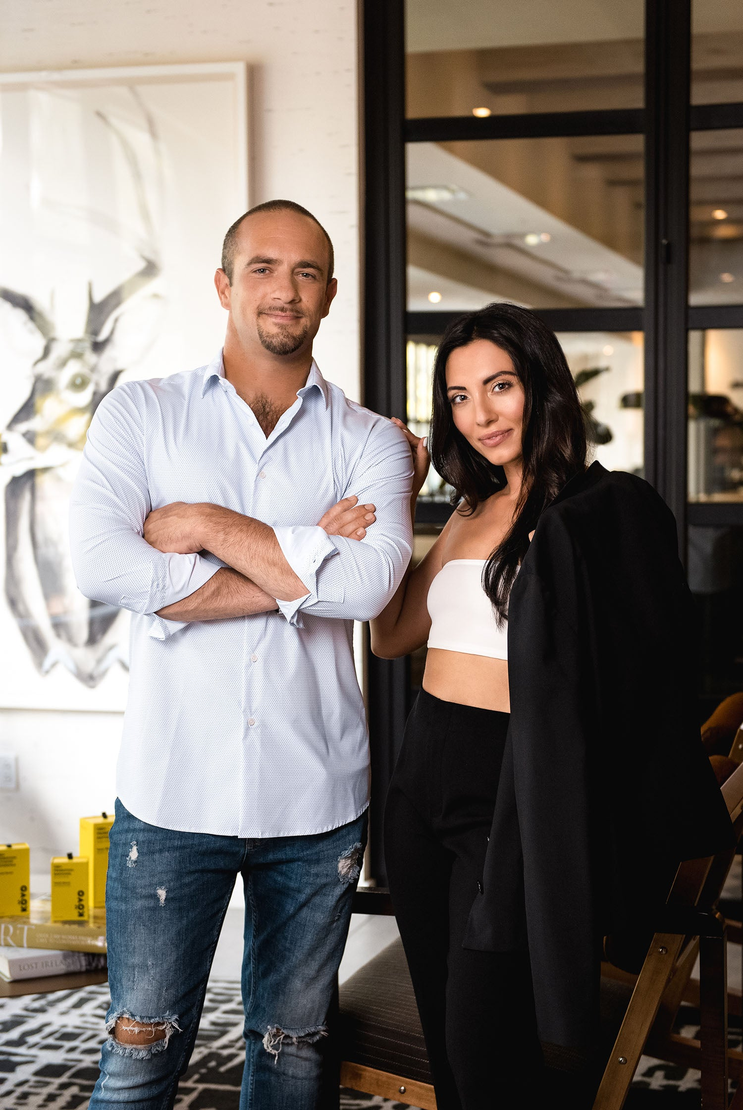 Founder Michael Sette Co-founder Jessica Bongiorno