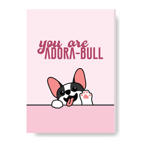 You are Adore-Bull Card