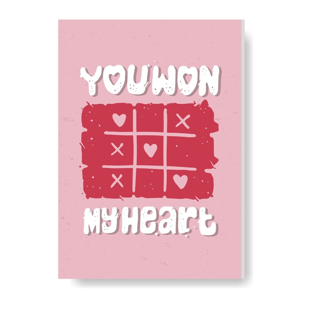 You Won My Heart Notebook