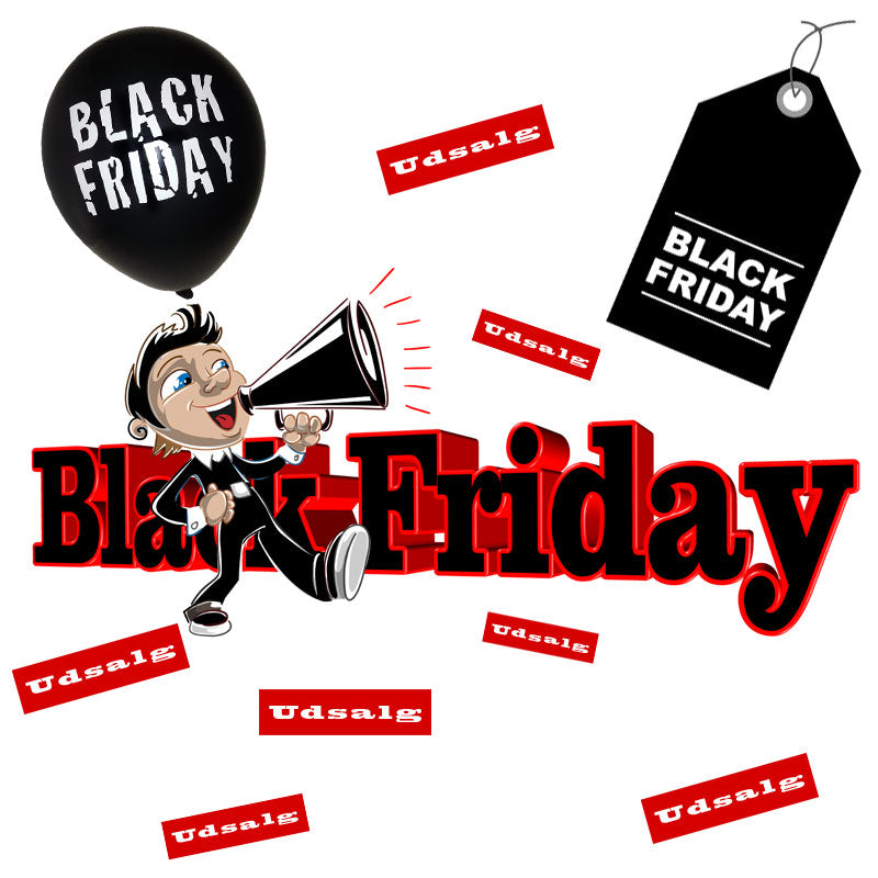 Black Friday pynt