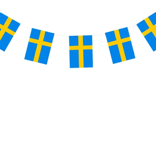 Flagranke Svenske flag