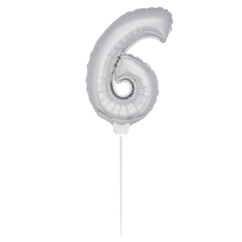 6 års Folieballon