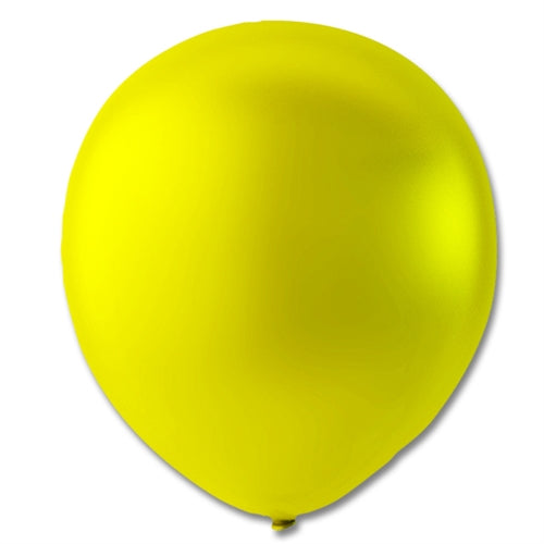 "Ballon 9"", Gul Metallic"