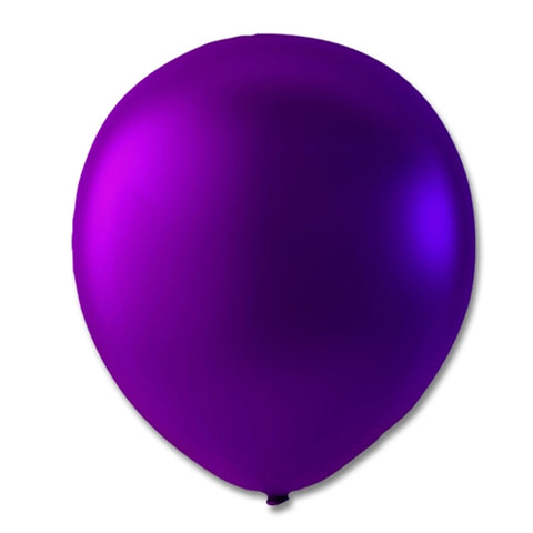 "Ballon 9"",  Lilla Metallic"