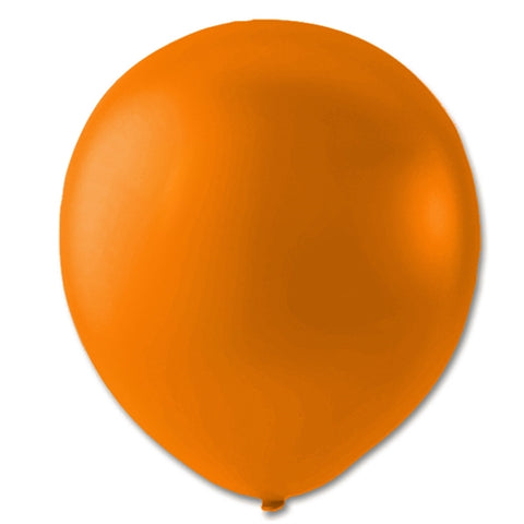 "Ballon 9"",  Orange Metallic"