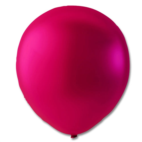 "Ballon 9"",  Pink Metallic"