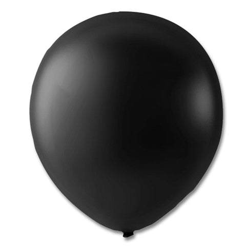 "Ballon 9"", Sort Metallic"