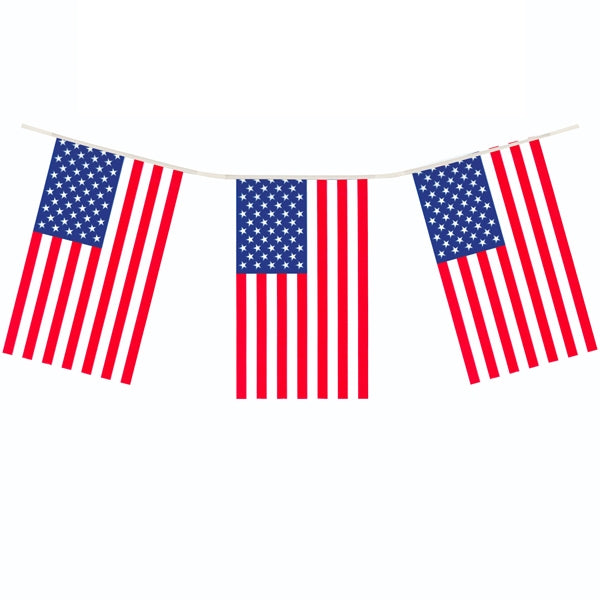 Plastbanner USA flag