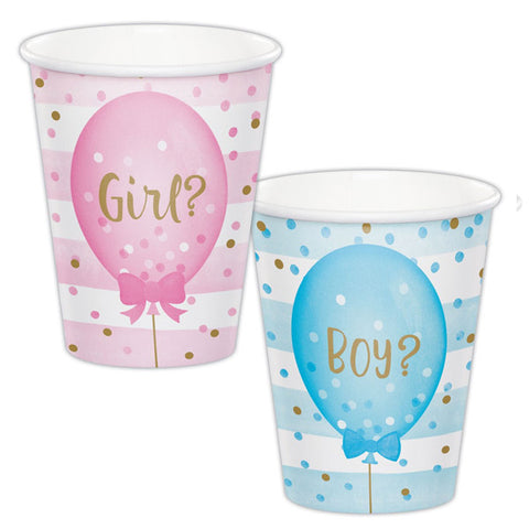 Boy eller Girl kopper babyshower