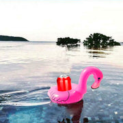 Drinksholder pink flamingo 2 stk.