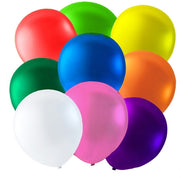 Metallic ballon mix 10 stk. 9""