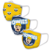 HOWIE'S FACE MASKS (3-PACK)