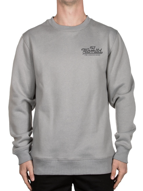 TEAMLTD Chain Stitch Crewneck Sweatshirt