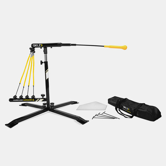 SKLZ HURRICANE CATEGORY 4 SOLO BASEBALL SWING TRAINING MACHINE