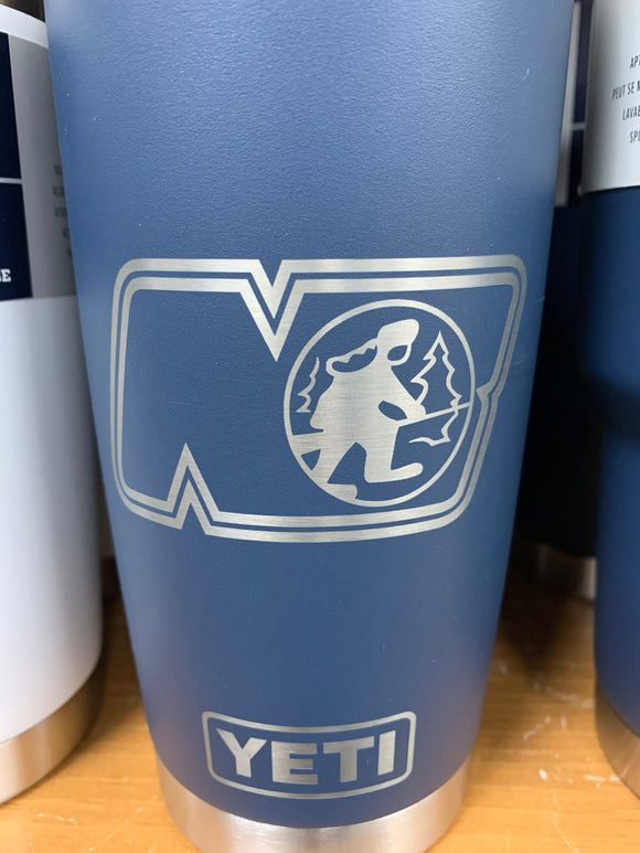CUSTOM ETCHED YETI RAMBLER 20oz