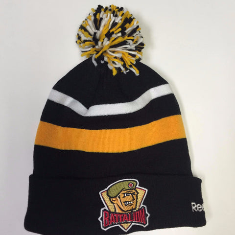 BATTALION FLEECED-LINED TOQUE W/POMPOM