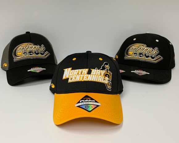 3PK NORTH BAY CENTENNIALS HATS