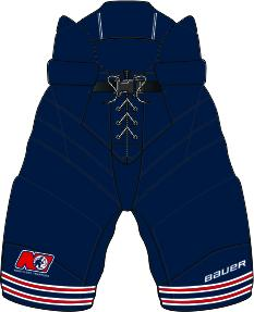 BAUER AAA TRAPPERS SENIOR GOALIE SHELL