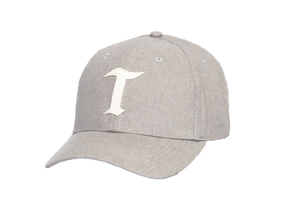 TEAMLTD GREY T STRAPBACK HAT
