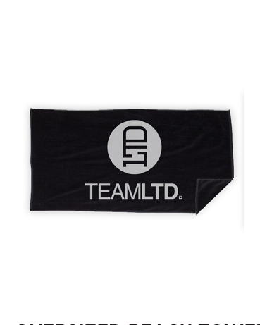 TEAMLTD OVERSIZED BEACH TOWEL