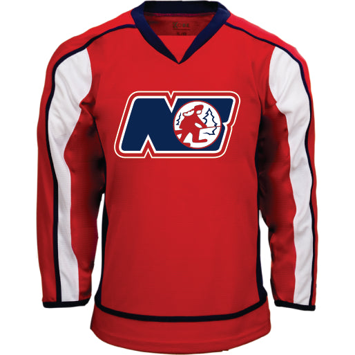 TRAPPERS AAA RED GAME JERSEY