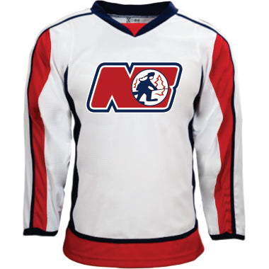 TRAPPERS AAA WHITE GAME JERSEY