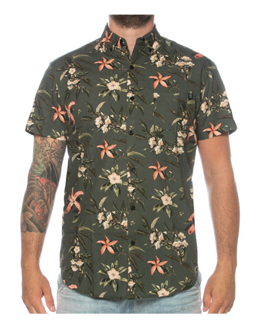 TEAMLTD SHORT SLEEVE BUTTON-UP