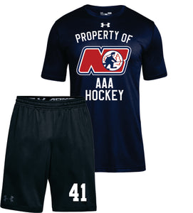 UNDER ARMOUR AAA TRAPPERS WARM UP COMBO