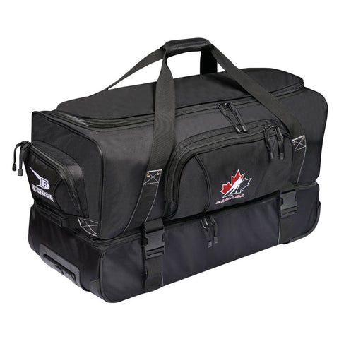 FORCE PREMIUM OFFICIATING ROLLING DUFFLE- HOCKEY CANADA