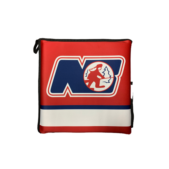CUSTOM AAA TRAPPERS STADIUM SEAT CUSHION