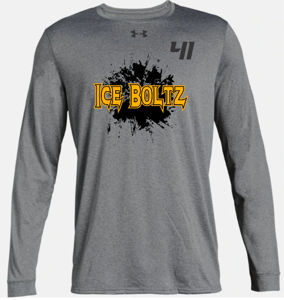 ICE BOLTZ UA YOUTH LONGLSEEVE TEE