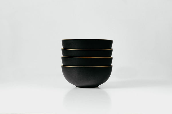 Snack Bowls in Blackberry Glaze