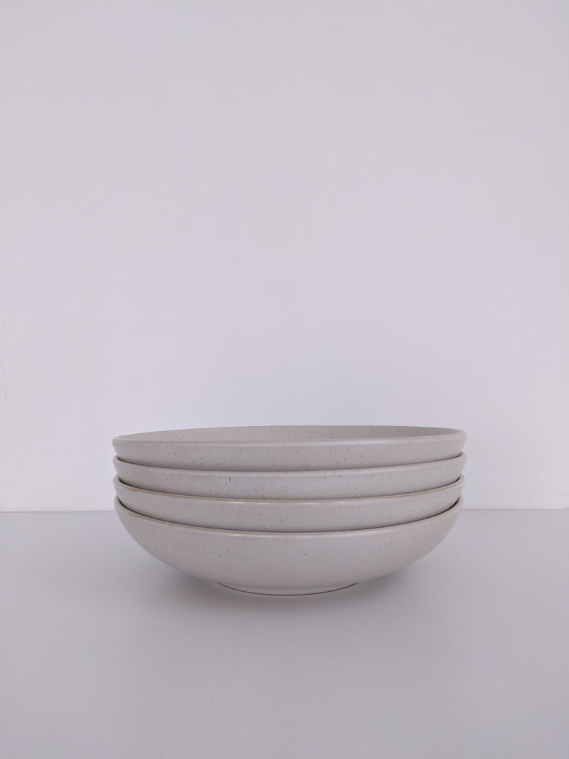 Chef Edition 8.5'' Salad Bowl in Marshmallow White
