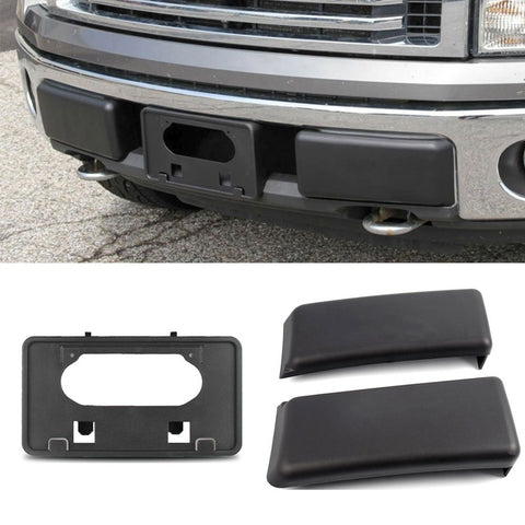 Front Bumper License Plate Frame Compatible for Ford 150 2009-2014