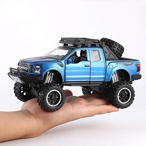 Ford Raptor F150 Toy Vehicles 1:32 Sound Gift Car Model