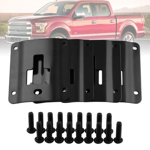 Ford F150 F250 F350 Raptor 2015-2019 Bed Cargo Tie-Down Brackets