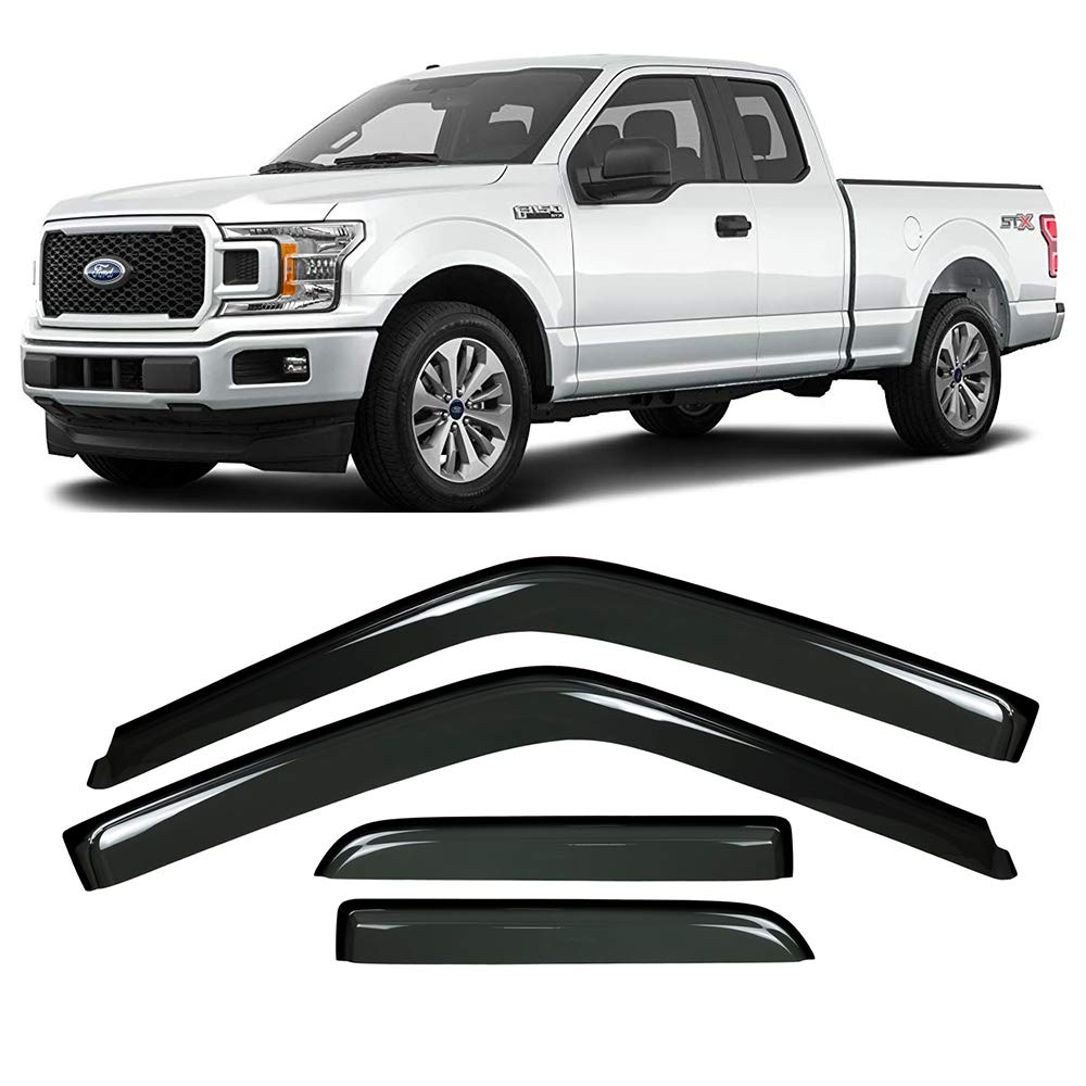 Ford F150 Side Window Deflecto Window Visors 2015-2020