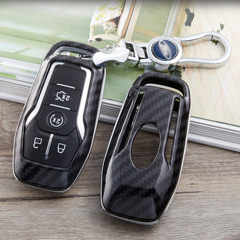 Ford F150 Raptor Car Key Shell Carbon Fiber 2016-2017