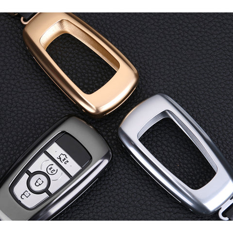 Key Fob Cover Case for Ford F-150 Aluminum Alloy (NOT fit Flip/Folding key)