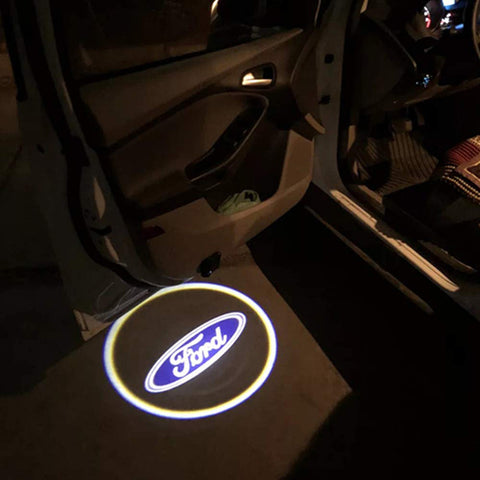 Ford Car Door Lights Logo Emblem LED Welcome Lamp f 150 2pcs