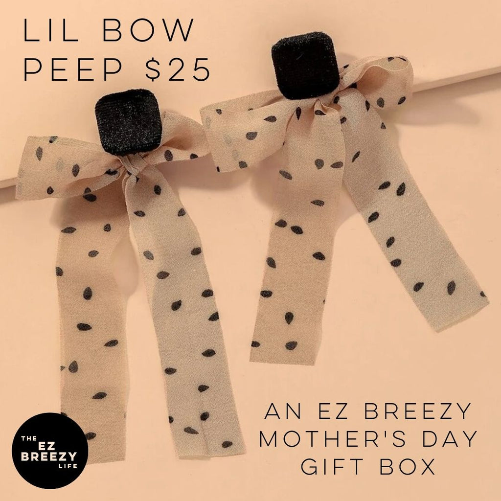 EZ Breezy Mother's Day Alabaster Box - Lil Bow Peep