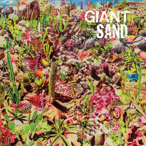 Giant Sand - Returns To Valley Of Rain (LP, Blue Vinyl)