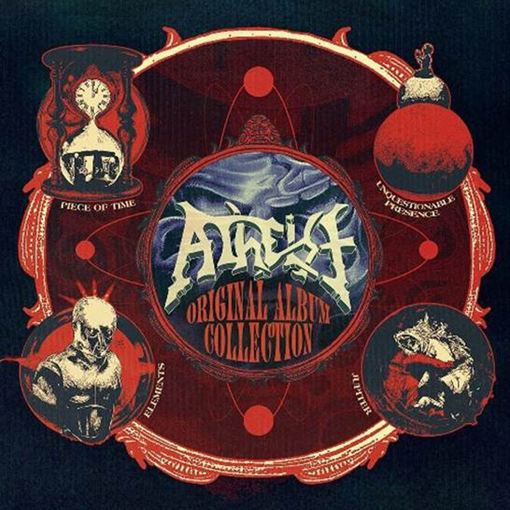 Atheist - Original Album Collection (4xCD)