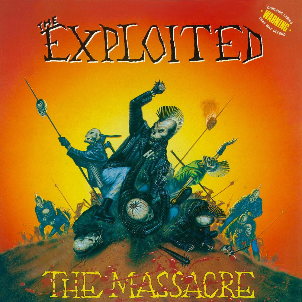 Exploited, The - The Massacre CD