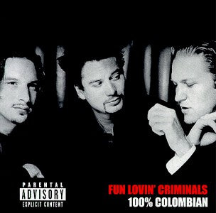 Fun Lovin' Criminals - 100% Colombian (LP, white vinyl)