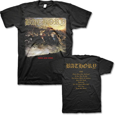 [T-shirt] Bathory - Blood Fire Death