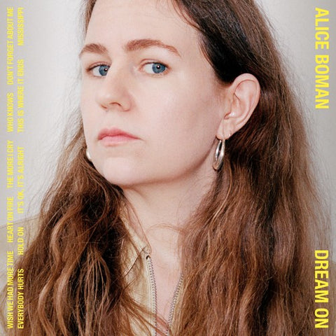 Alice Boman - Dream On (LP, Yellow vinyl)